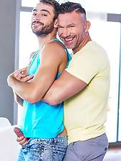DADDY-IN-LAW TOMAS BRAND FUCKS MAX ADONIS