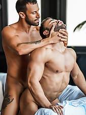 Sean Austin Bounces On Gustavo Cruz's Uncut Dick