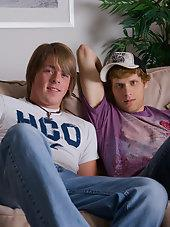 Trevor and Cory